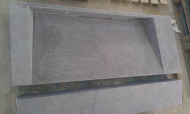 Wastafel Natuursteen : Voorraad wastafels - Natuursteen op maat